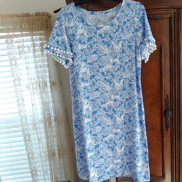 Lilly Pulitzer Dresses & Skirts - 🌻🌷😍 Lilly Pulitzer Fancy Feet Fox Lissie Dress